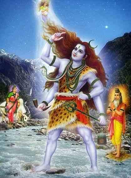 Why Lord Shiva has Ganga on his Head