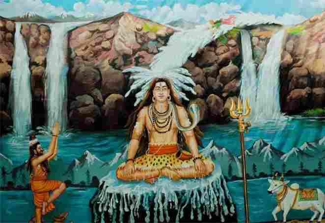 Lord Shiva Jata Hair