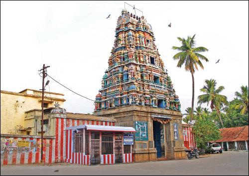 madhyarjuneshwarar, balambikai temple pettavaithalai tamil nadu