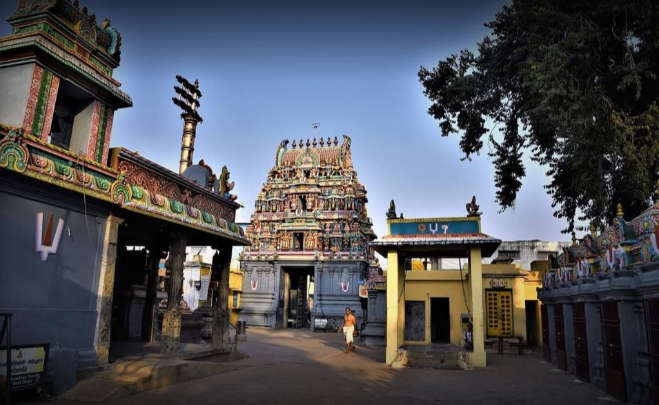 sowmya damodara perumal temple villivakkam