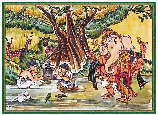 vinayagar anuboothi in tamil