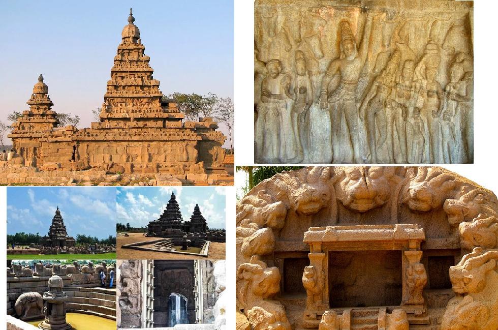 mahabalipuram cave temples tamil
