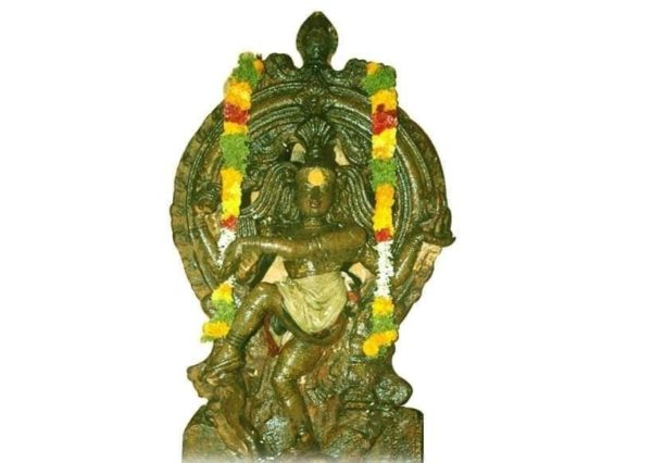 Uthirakosamangai maragatha natarajar statue