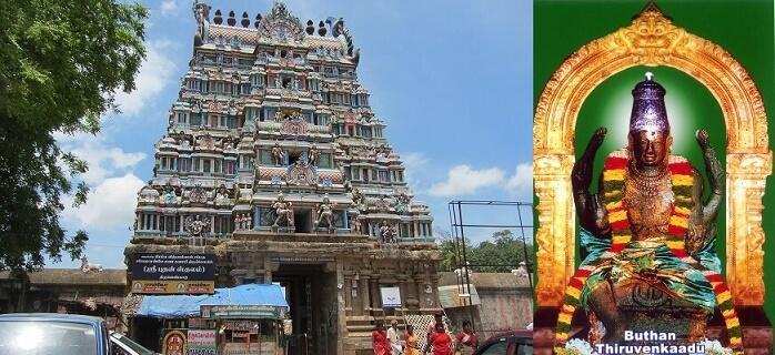 thiruvenkadu budhan temple history tamil