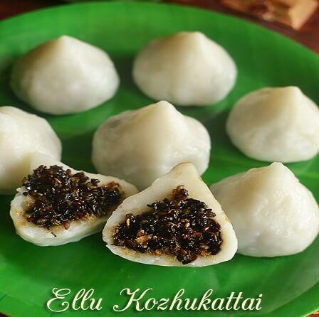 ellu pooranam kozhukattai recipe in tamil