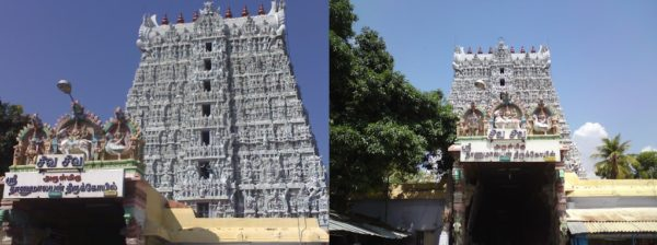 suchindram thanumalayan temple history in tamil