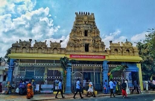 muppandal esakki amman temple history tamil