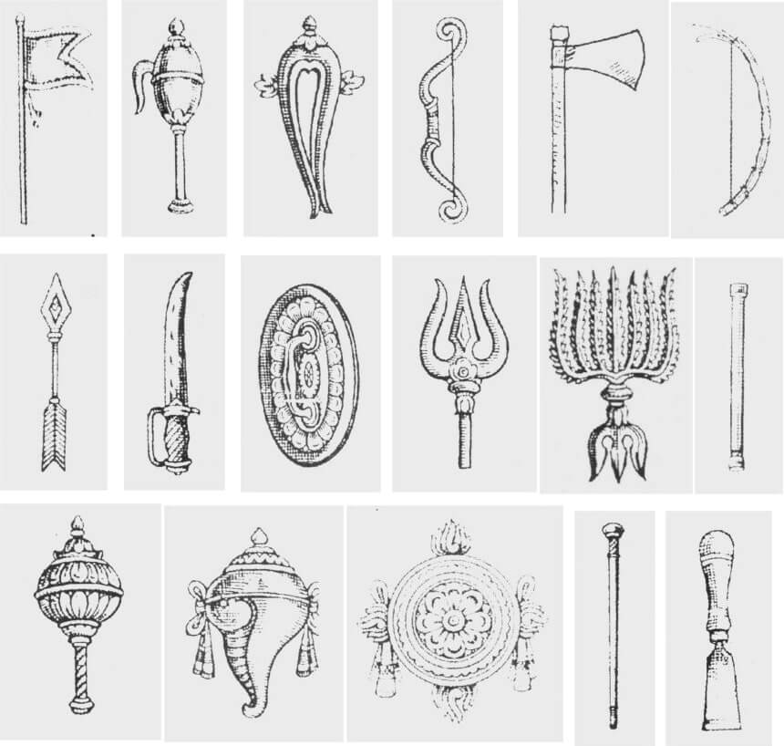 weapons of lord murugan