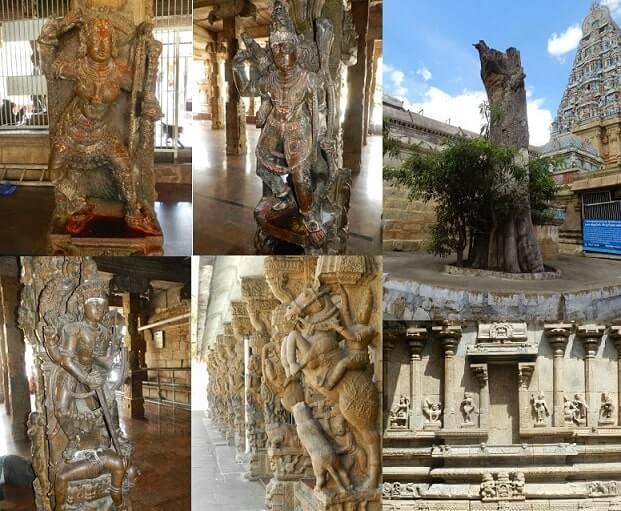 arthanareeswarar temple tiruchengode sculptures