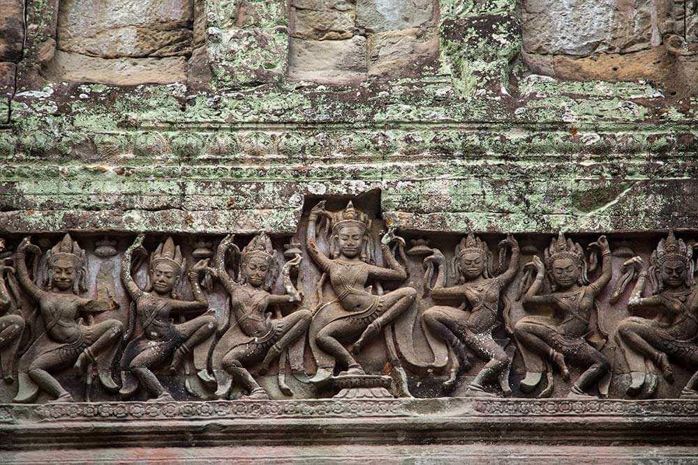 Angkorwat Temple Sculptures