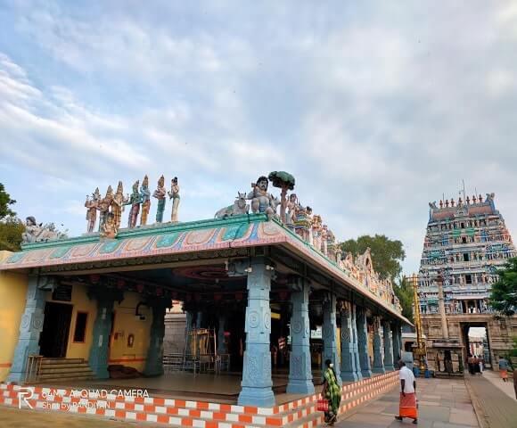 Bhavani Kooduthurai Temple History in Tamil