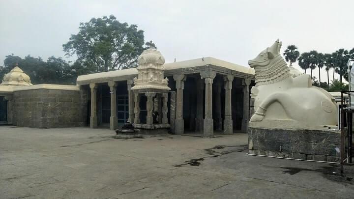 thirumuruganpoondi temple nandhiyam peruman