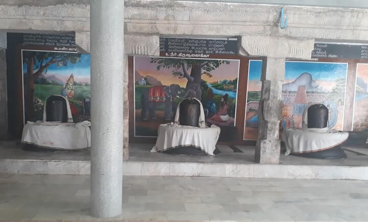 venjamangudalur temple lingams