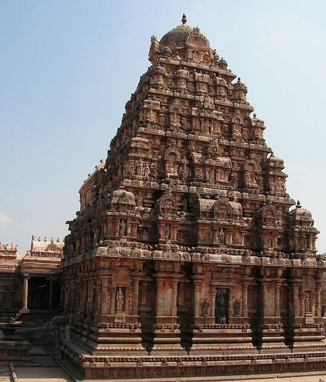 darasuram airavatesvara temple vimanam