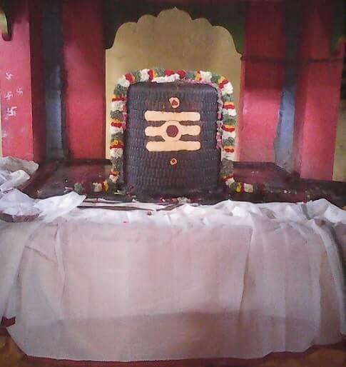 kalayarkoil sorna kaleeswarar temple lingam