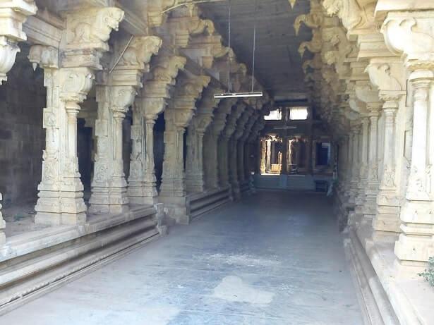 kalayarkoil sorna kaleeswarar temple mandapam