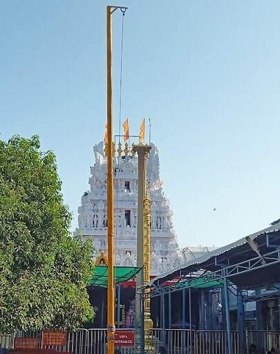 Sri Kalahasti Temple kodimaram